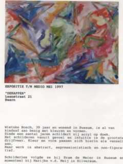 Expositie Baarn - 1997