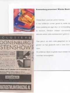 Expositie Kroonenburg - 2005