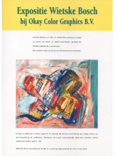 Expositie Okay Color Graphics B.v.