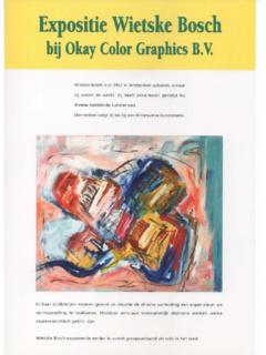 Expositie Okay Color Graphics B.v.